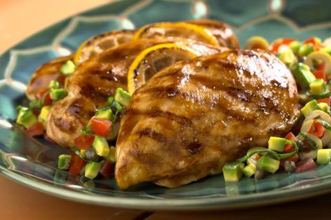 <p>Esta receta de pechugas de pollo rellenas tiene bajo aporte calórico y alto contenido en proteínas Esta receta de pechugas de pollo rellenas tiene bajo aporte calórico y alto contenido en proteínas. Una pechuga de pollo sin piel nos garantiza un 20% de proteínas y solo 2 gr de grasa. Esta receta va acompañada de […]</p>
